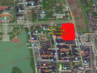 土拍预告 | 南昌县莲塘63亩地挂牌 限价10000元/㎡