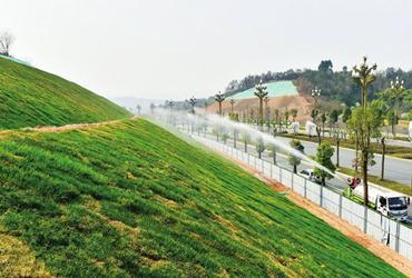 绵阳这条9万平方米生态绿化大道即将完成!
